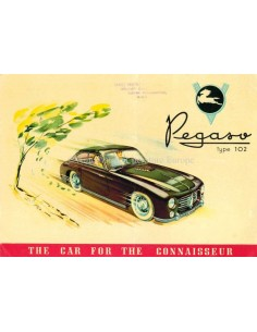 1952 PEGASO Z-102 BROCHURE ENGLISH