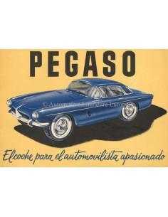 1957 PEGASO Z-103 BROCHURE SPANISCH