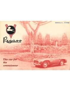 1953 PEGASO Z-102 B BS PROSPEKT ENGLISCH