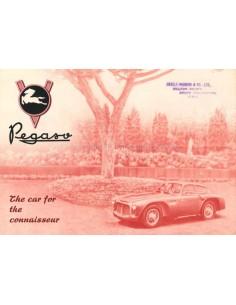 1953 PEGASO Z-102 B BS BROCHURE ENGELS