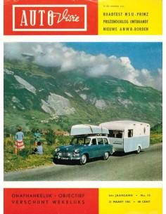 1961 AUTOVISIE MAGAZINE 13 DUTCH