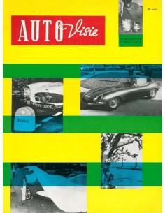 1961 AUTOVISIE MAGAZINE 12 NEDERLANDS
