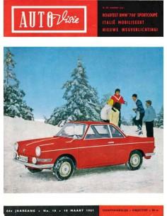 1961 AUTOVISIE MAGAZINE 10 NEDERLANDS