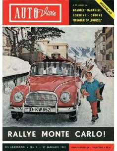 1961 AUTOVISIE MAGAZIN 4 NIEDERLÄNDISCH