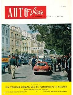 1960 AUTOVISIE MAGAZINE 10 NEDERLANDS