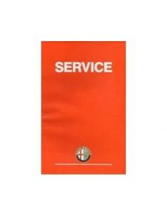 1996 ALFA ROMEO SERVICE INSTRUCTIEBOEKJE