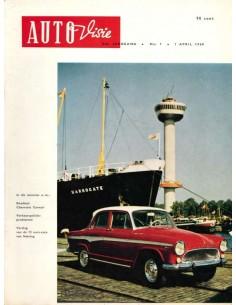 1960 AUTOVISIE MAGAZIN 7 NIEDERLÄNDISCH