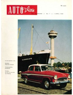 1960 AUTOVISIE MAGAZINE 7 NEDERLANDS