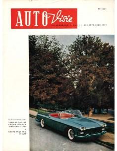 1959 AUTOVISIE MAGAZIN 19 NIEDERLÄNDISCH