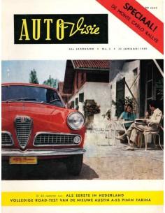 1959 AUTOVISIE MAGAZIN 2 NIEDERLÄNDISCH