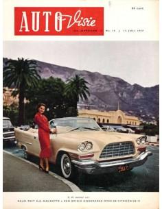 1957 AUTOVISIE MAGAZIN 14 NIEDERLÄNDISCH