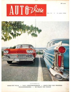 1958 AUTOVISIE MAGAZIN 14 NIEDERLÄNDISCH