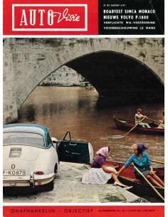 1961 AUTOVISIE MAGAZIN 13 NIEDERLÄNDISCH