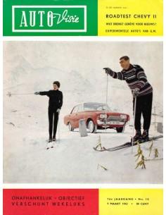 1962 AUTOVISIE MAGAZIN 10 NIEDERLÄNDISCH