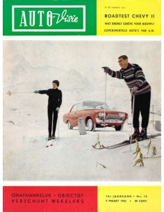 1962 AUTOVISIE MAGAZINE 10 DUTCH
