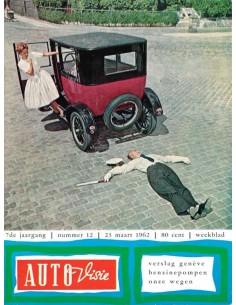1962 AUTOVISIE MAGAZINE 12 NEDERLANDS
