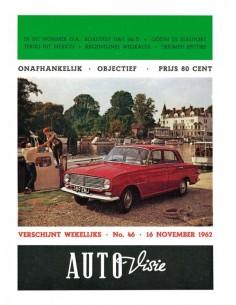 1962 AUTOVISIE MAGAZIN 46 NIEDERLÄNDISCH