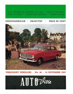 1962 AUTOVISIE MAGAZINE 46 NEDERLANDS