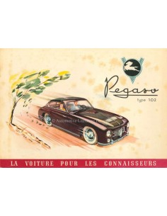 1952 PEGASO Z-102 BROCHURE FRENCH