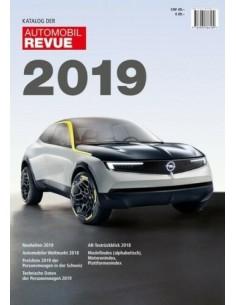 2019 AUTOMOBIL REVUE JAARBOEK DUITS
