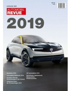 2019 AUTOMOBIL REVUE YEARBOOK GERMAN
