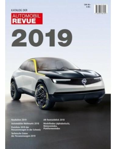 2019 AUTOMOBIL REVUE YEARBOOK GERMAN
