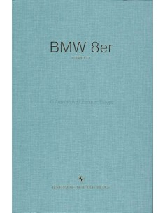 2018 BMW 8 SERIES CABRIOLET HARDBACK BROCHURE GERMAN