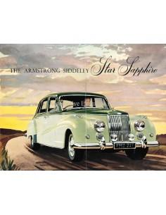 1958 ARMSTRONG SIDDELEY STAR SAPPHIRE BROCHURE ENGLISH