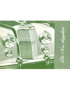 1953 ARMSTRONG SIDDELEY SAPPHIRE BROCHURE ENGELS