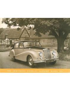 1957 ARMSTRONG SIDDELEY SAPPHIRE 346 BROCHURE ENGELS