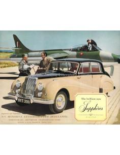 1955 ARMSTRONG SIDDELEY SAPPHIRE 346 BROCHURE ENGELS