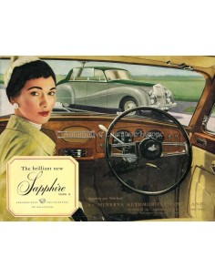 1954 ARMSTRONG SIDDELEY SAPPHIRE BROCHURE ENGELS
