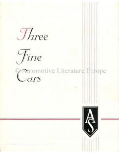 1946 ARMSTRONG SIDDELEY THREE FINE CARS PROSPEKT NIEDERLÄNDISCH