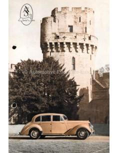 1951 ARMSTRONG SIDDELEY PROGRAMM PROSPEKT ENGLISCH