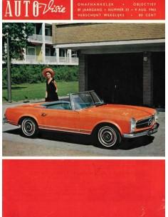 1963 AUTOVISIE MAGAZIN 33 NIEDERLÄNDISCH