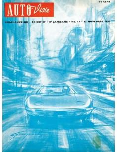 1963 AUTOVISIE MAGAZINE 47 NEDERLANDS
