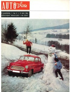 1964 AUTOVISIE MAGAZINE 3 NEDERLANDS