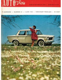 1964 AUTOVISIE MAGAZINE 24 DUTCH