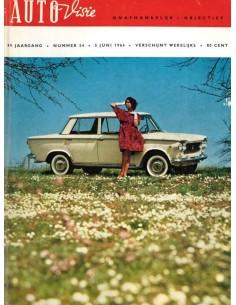 1964 AUTOVISIE MAGAZINE 24 NEDERLANDS