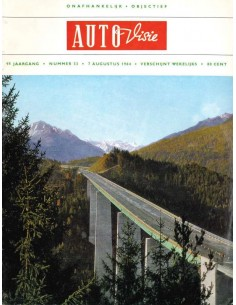 1964 AUTOVISIE MAGAZINE 33 NEDERLANDS