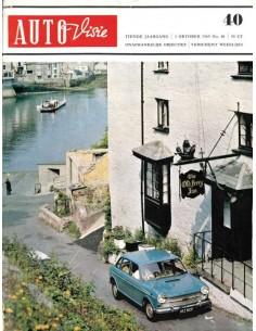 1965 AUTOVISIE MAGAZINE 40 NEDERLANDS