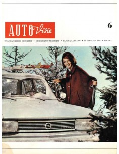 1966 AUTOVISIE MAGAZIN 6 NIEDERLÄNDISCH