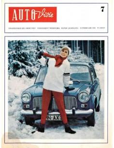 1966 AUTOVISIE MAGAZIN 7 NIEDERLÄNDISCH