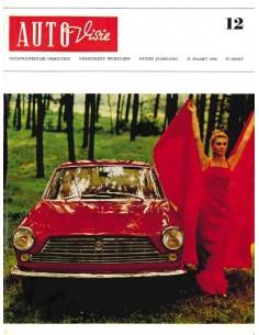 1966 AUTOVISIE MAGAZIN 12 NIEDERLÄNDISCH