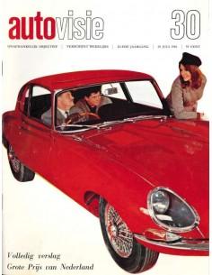 1966 AUTOVISIE MAGAZIN 30 NIEDERLÄNDISCH