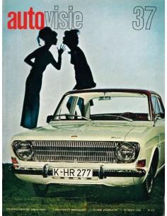 1966 AUTOVISIE MAGAZIN 37 NIEDERLÄNDISCH