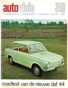 1966 AUTOVISIE MAGAZIN 39 NIEDERLÄNDISCH