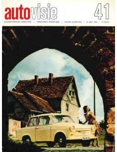 1966 AUTOVISIE MAGAZIN 41 NIEDERLÄNDISCH