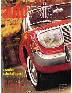 1967 AUTOVISIE MAGAZIN 16 NIEDERLÄNDISCH