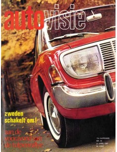 1967 AUTOVISIE MAGAZINE 16 DUTCH